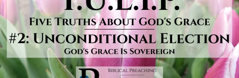Unconditional Election: God's Grace Is Sovereign
