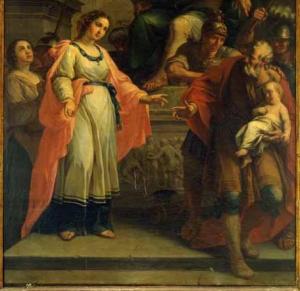 Martyre de sainte Perpétue et de sainte Félicité, by Giovanni Gottardi