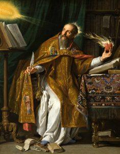 """""""Saint Augustine"""" by Philippe de Champaigne"""