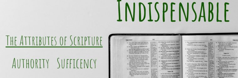 The Bible Is … Indispensable (The Necessity of Scripture)